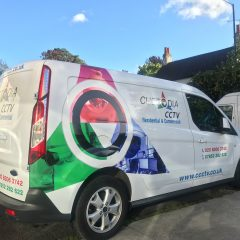 Custodia CCTV Branded Partial Digital Print Wrap