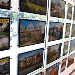 Estate Agents Window Poster Pockets Display
