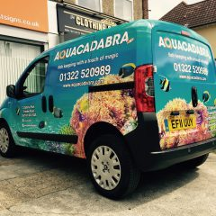 Aquacadabra Branded Full Digital Print Wrap
