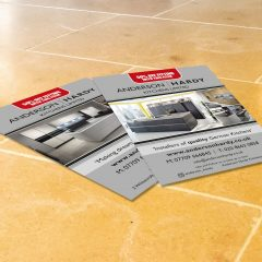 Hardy Branded Double Sided Flyers