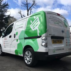 Anglo Branded Nissan Vinyl Wrap
