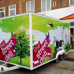 StreetDeli Branded Full Digital Print Trailer Wrap