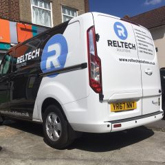 Reltech Branded Partial Wrap.